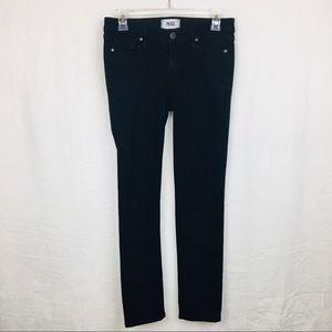 Paige Black Skyline Skinny Jeans Size 27